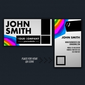 Custom Business Card - Kostenloses vector #210917