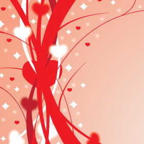 Ribons Of Love - Kostenloses vector #211107