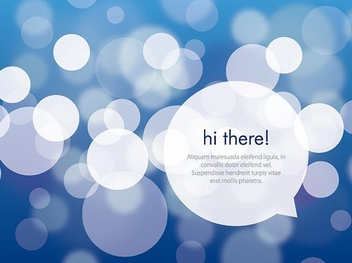 Hi there - vector gratuit #211407