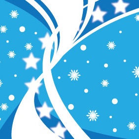 Winter Background - vector #211467 gratis