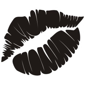 Lips Mark - vector gratuit #211537