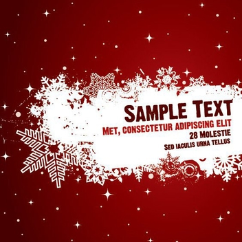 Snowing Poster - Free vector #211617