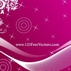 Free Pink Background Vector - vector gratuit #211707