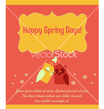 Free spring background design vector - Free vector #211807