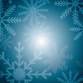 Xmas Vector Background - vector #212137 gratis