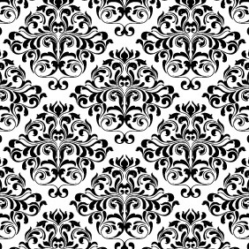 Free Vector Damask Pattern - Free vector #212317