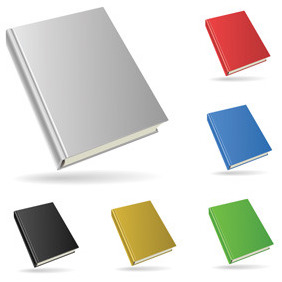 Simplistic Vector Books - Free vector #212327