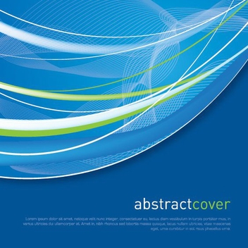 Abstract Cover - vector gratuit #212547