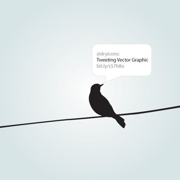 Tweeting - vector #212727 gratis