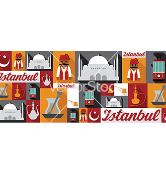 Free travel and tourism icons istanbul vector - бесплатный vector #212737