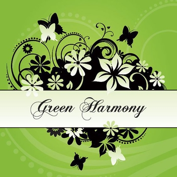 Green Harmony - Free vector #212837