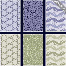 Free Seamless Vector Patterns - Kostenloses vector #212897