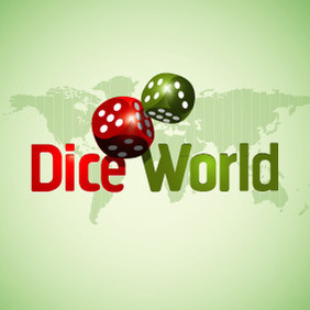 Dice World - vector gratuit #212917