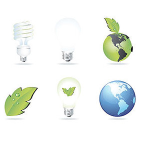 Eco-friendly Vectors - vector gratuit #212977