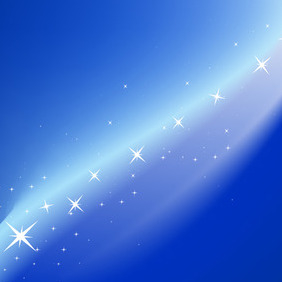 Blue Magic Vector Background - vector #213157 gratis