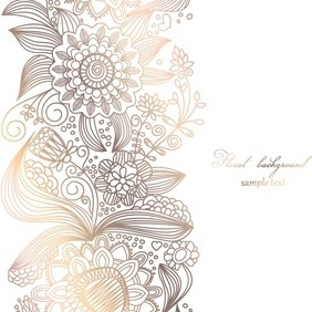 Light Floral Background - Free vector #213187
