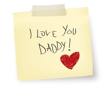 I Love You Daddy - vector #213347 gratis