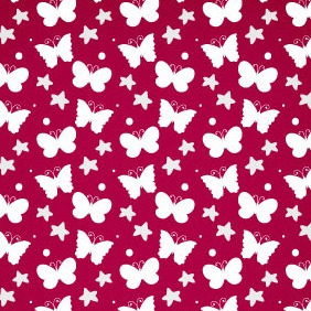 Summer Butterfly Free Vector Pattern - Kostenloses vector #213477