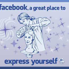 Facebook Expression - vector gratuit #213637