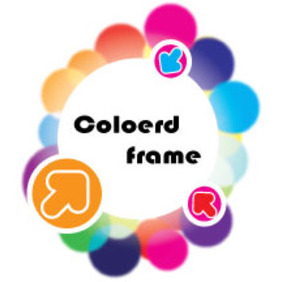 Frame With Three Direction Design - vector gratuit #213767