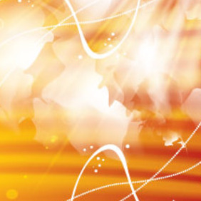 Vector Abstract Golden Background - vector #213787 gratis
