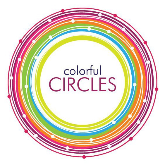 Colorful Circles Vector - Free vector #213947