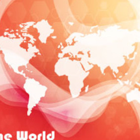 Orange World Free Vector Graphic - бесплатный vector #213997