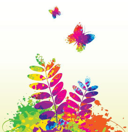 Colorful Spring - Free vector #214167