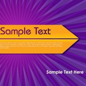 Attractive Abstract Vector Background With Sample Text - vector gratuit #214207