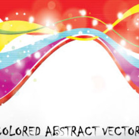 Colored Abstract Vector Graphic Art - Free vector #214737