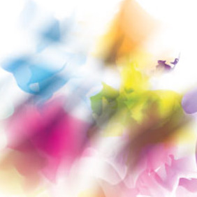 Blur Lines In Colorful Background - vector #214767 gratis