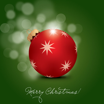 Merry Christmas Vector - Free vector #214857