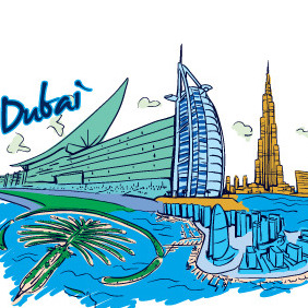 Vector Famous Cities Free Sample - vector gratuit #214937