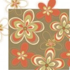 Free Flower Vector Background14d4 - Free vector #215007