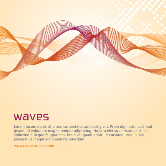 Waves - Free vector #215097