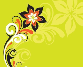 Stylized Plant - Kostenloses vector #215157