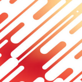 Labirent White Vector In Orange Background - vector gratuit #215317