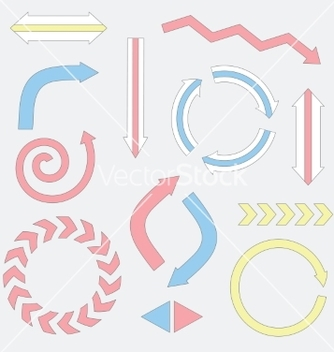 Free arrow vector - Free vector #215407