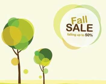 Fall Sale - Free vector #215497