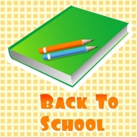 Back To School - vector gratuit #215547