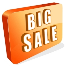 Big Sale Icon - Kostenloses vector #215577