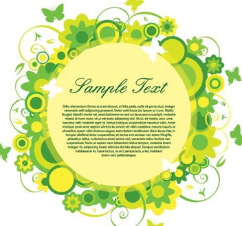 Green Friday Banner - vector gratuit #216527