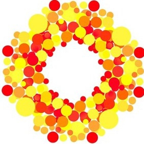 Colorful Circles - vector gratuit #216697