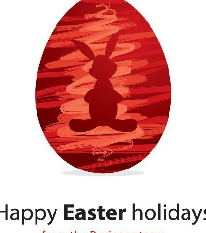 Happy Easter Holidays - Free vector #216797