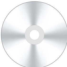 Vector CD Or DVD Disk - vector gratuit #216867