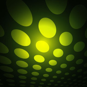 Green Dotted Vector Background VP - Free vector #216887