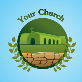 Your Church Logo - Free vector #217007