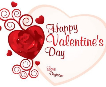 Valentines Card - Free vector #217227