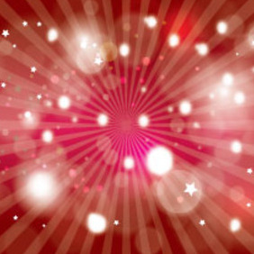 Red One Abstract Free Vector - Free vector #217237