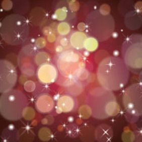 Shining Brown Bubbles - Free vector #217287